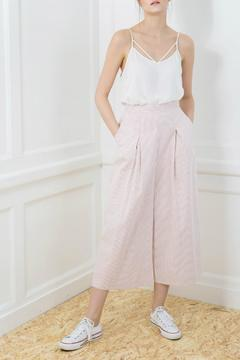 Shoptiques Product: Red Pinstripe Culottes