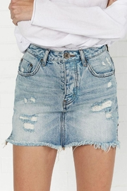 One Teaspoon 20/20 Mini Skirt - Front cropped