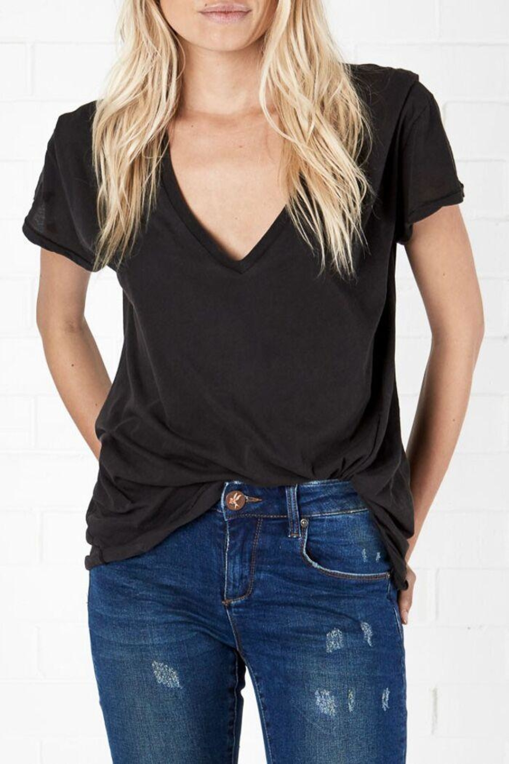 One Teaspoon Black Sailor Tee - Main Image