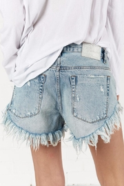 One Teaspoon Blue Hart Brandos Shorts - Front full body