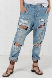 One Teaspoon Blue Jane Cavalries Jeans - Product Mini Image