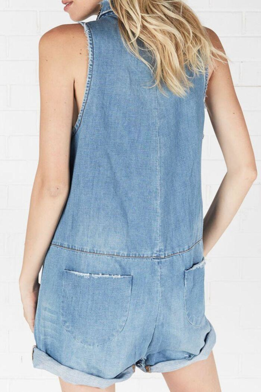One Teaspoon Braxton Utility Suit - Back Cropped Image