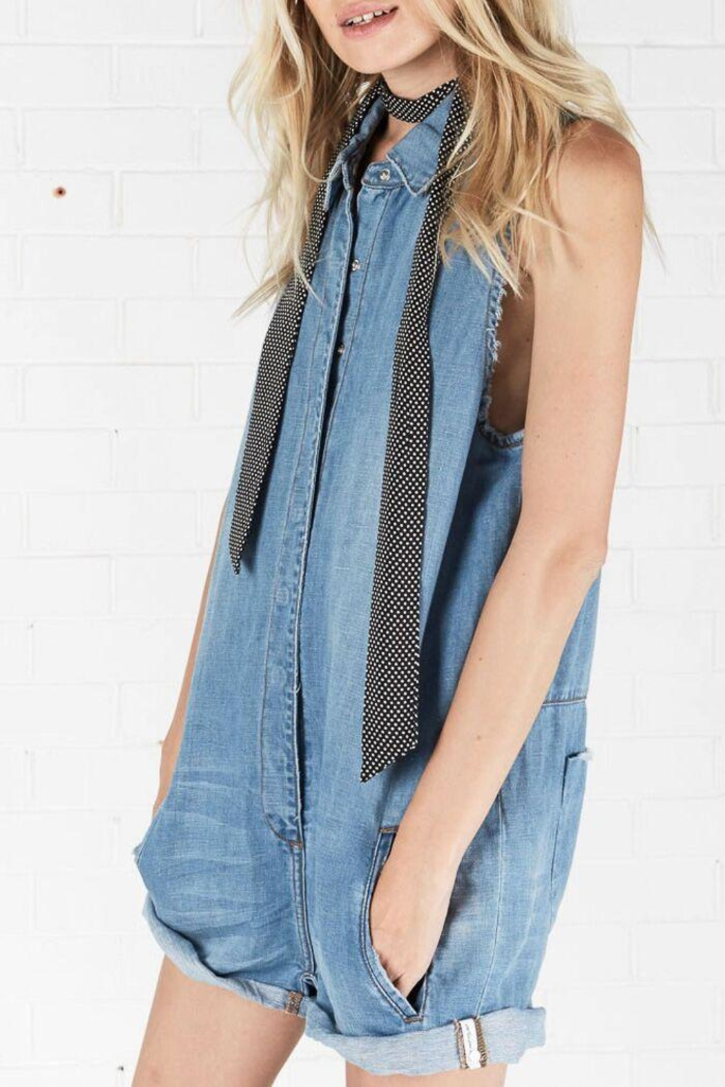 One Teaspoon Braxton Utility Suit - Side Cropped Image