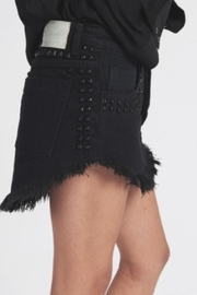 One Teaspoon Denim Mini Skirt - Front full body