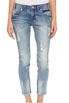 Shoptiques Product: Distressed Boyfriend Jeans