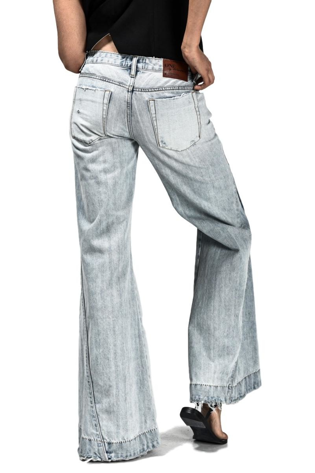 One Teaspoon Florence Johnnies Jean - Back Cropped Image