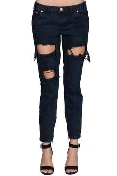 Shoptiques Product: Freebird Distressed Jeans