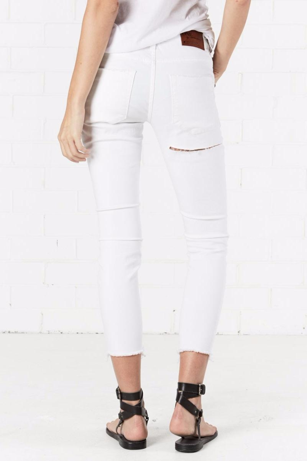 One Teaspoon Free Birds Li Jeans - Side Cropped Image