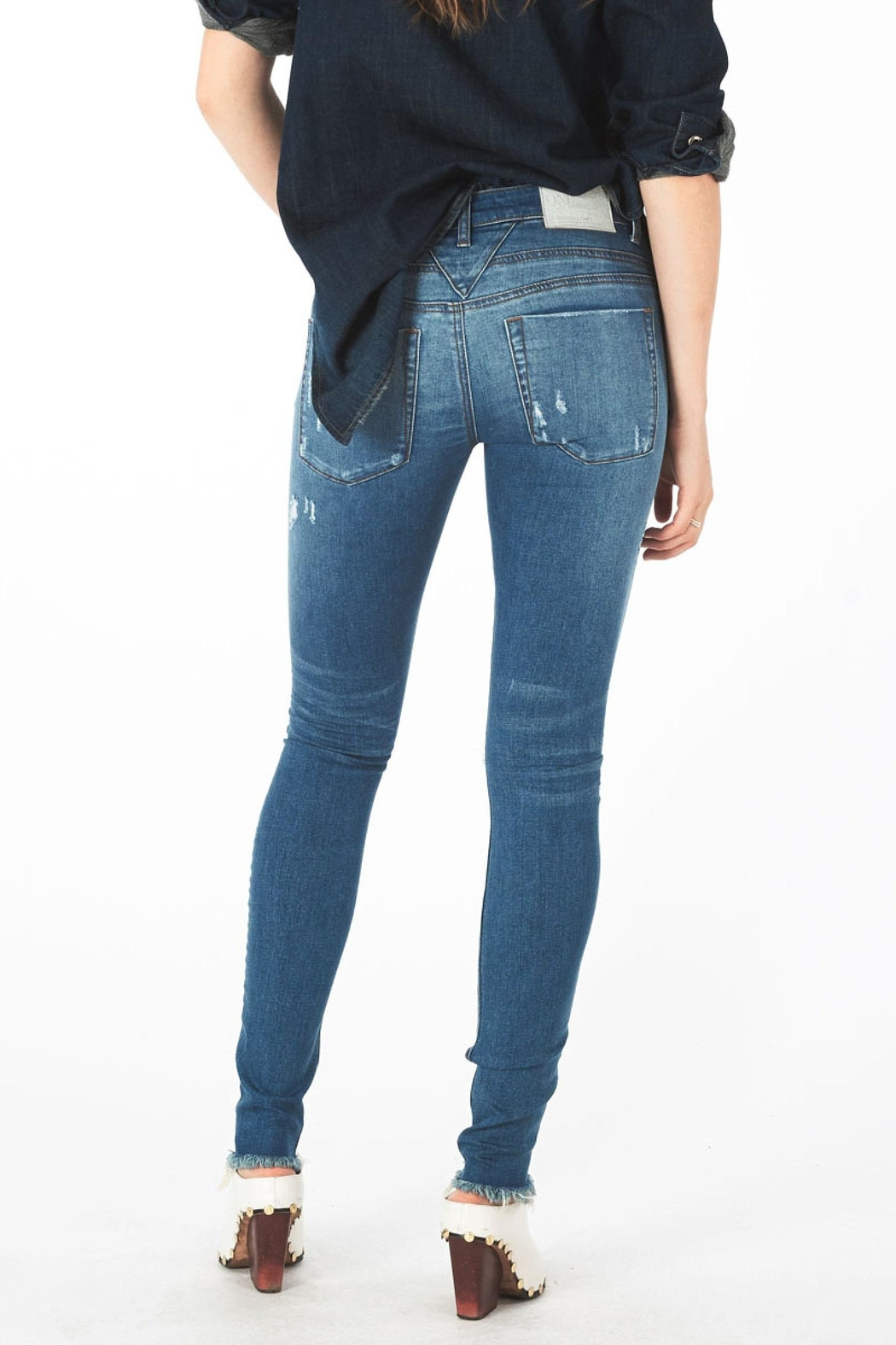 One Teaspoon Hoodlums Skinny Jean - Front Full Image