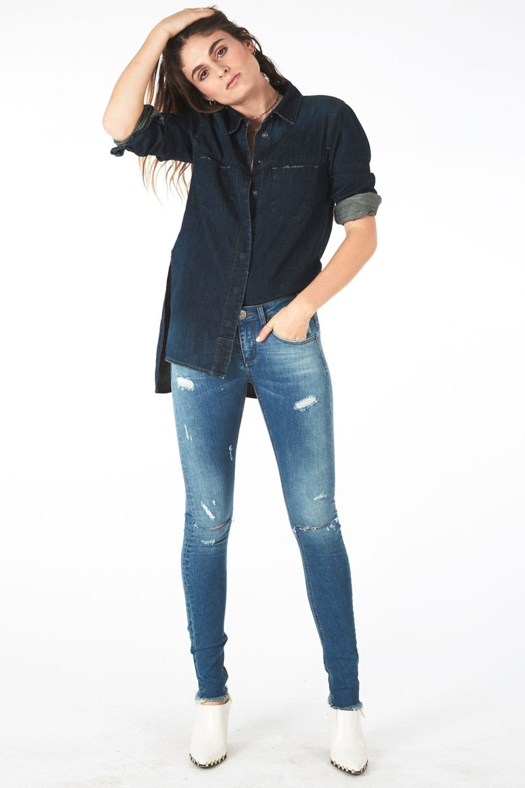 One Teaspoon Hoodlums Skinny Jean - Main Image