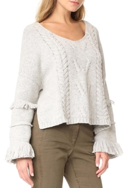 One Teaspoon Jethro Fringed Sweater - Front cropped