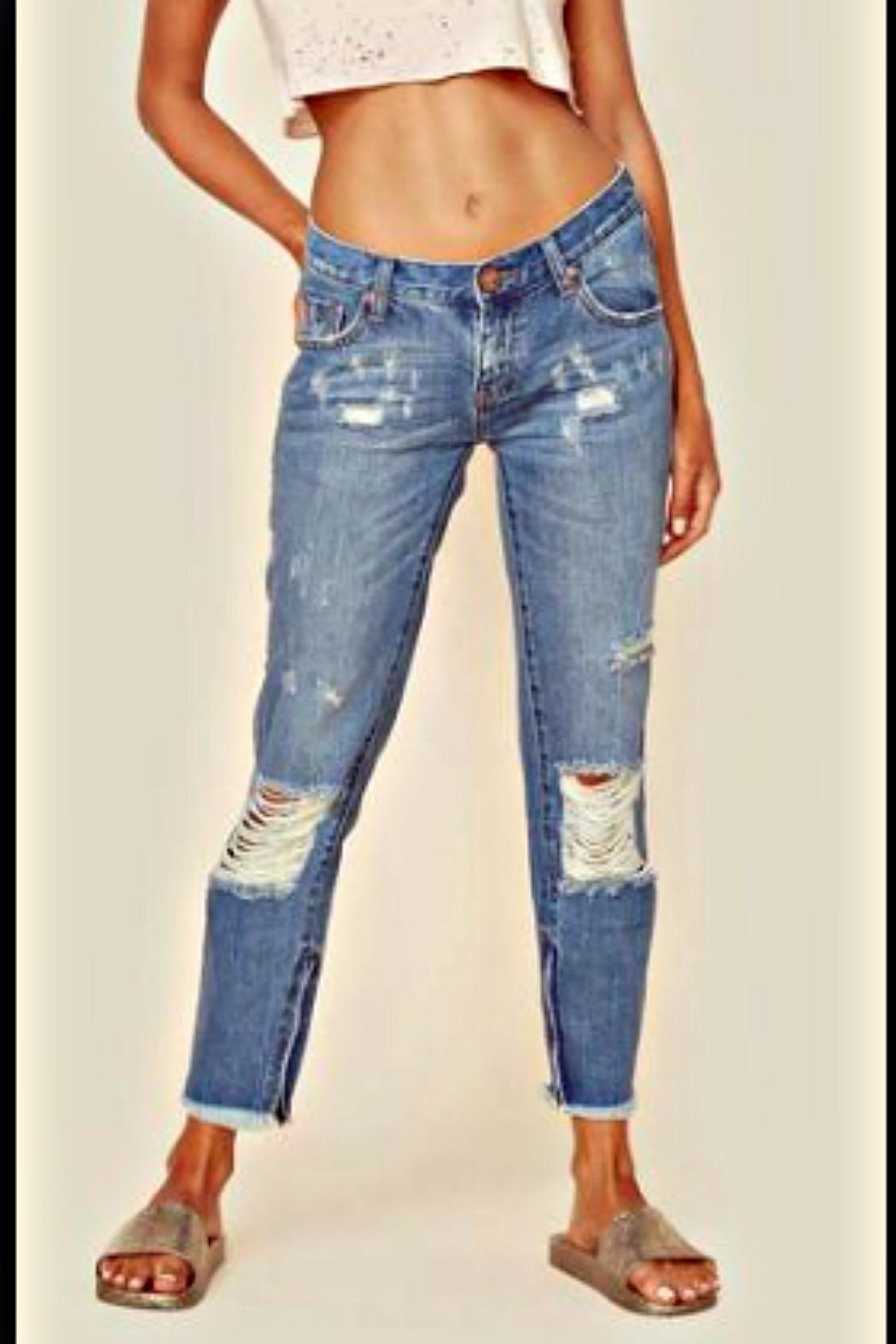 One Teaspoon Pacifica Freebird Jeans - Side Cropped Image