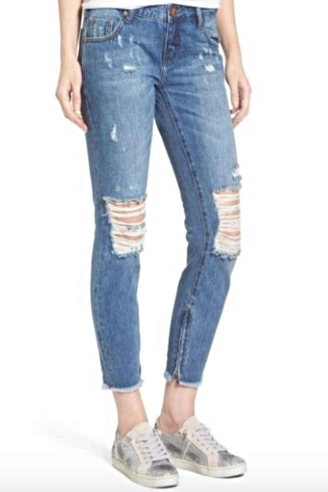One Teaspoon Pacifica Freebird Jeans - Front Full Image