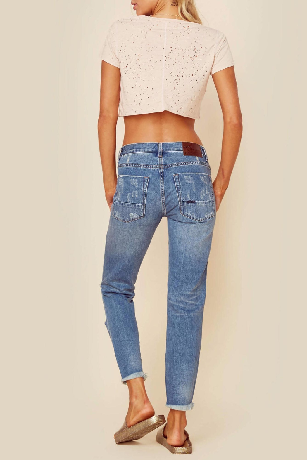 One Teaspoon Pacifica Jeans - Side Cropped Image