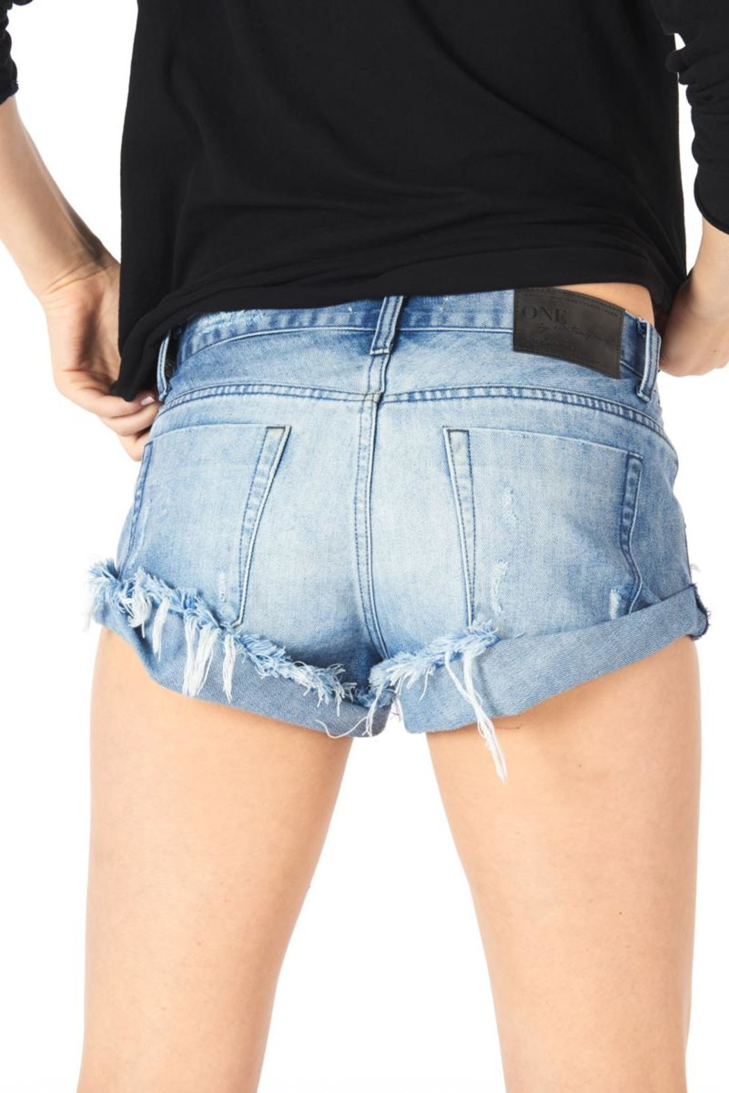 One Teaspoon Rocky Bandit Short - Front Full Image