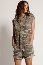 One Teaspoon Safari Bandits Overall - Front full body