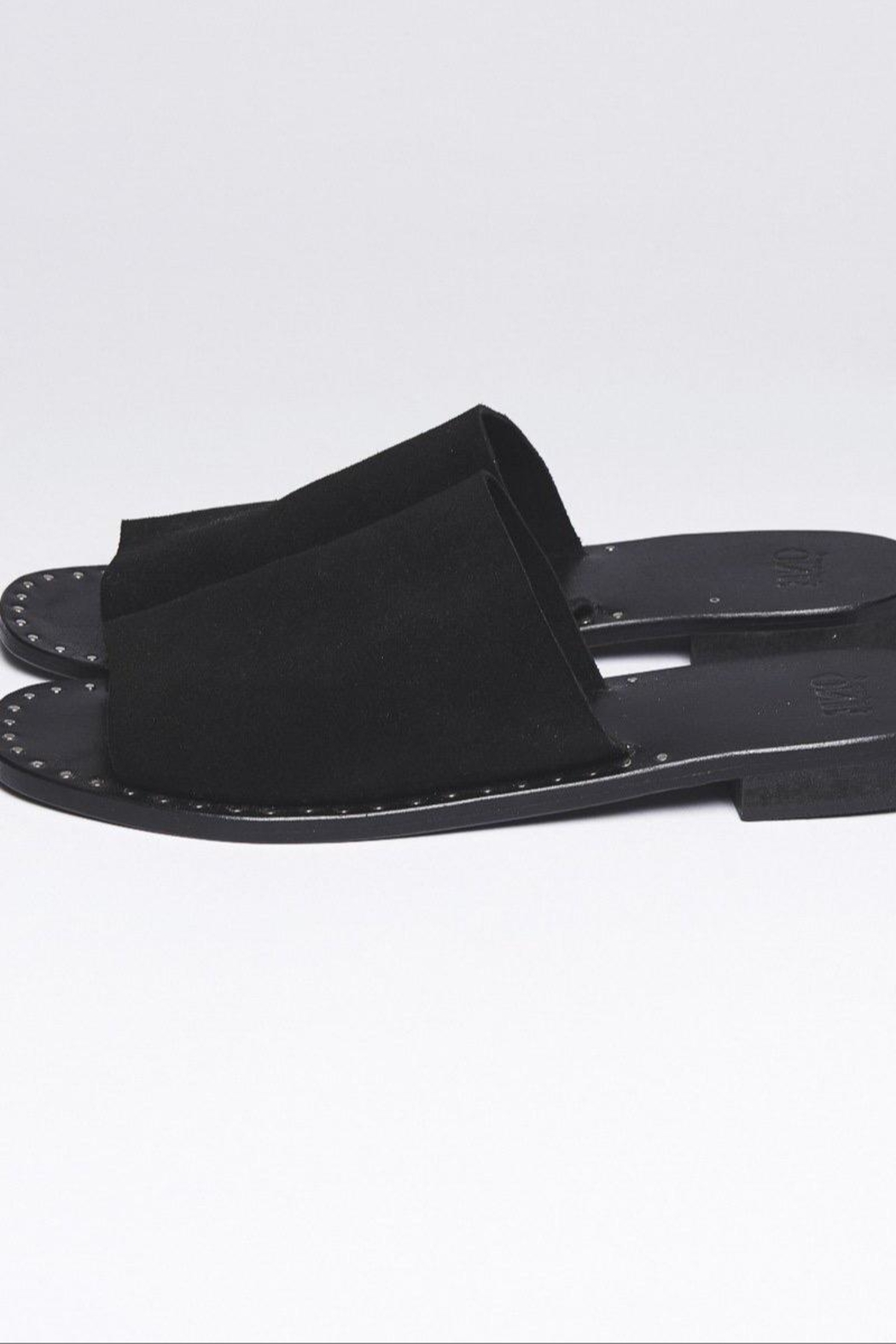 One Teaspoon Suede Slide-On Sandal - Front Cropped Image