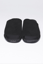 One Teaspoon Suede Slide-On Sandal - Front full body