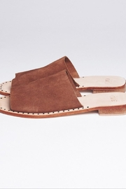 One Teaspoon Suede Slide-On Sandal - Front cropped
