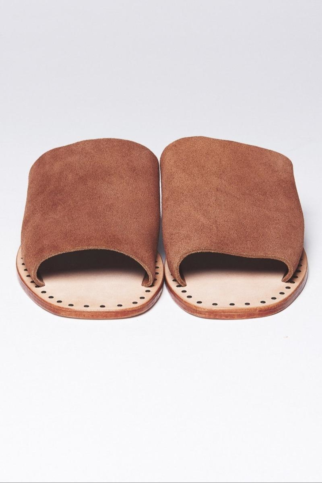 One Teaspoon Suede Slide-On Sandal - Side Cropped Image