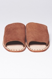 One Teaspoon Suede Slide-On Sandal - Side cropped