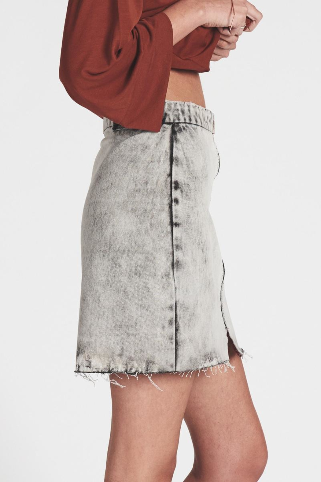 f4ce9a70c One Teaspoon Vixen Denim Skirt from Hudson Valley by Bfree — Shoptiques