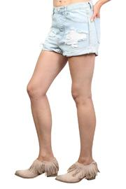 One Teaspoon Wilde Outlaw Denim Shorts - Side cropped