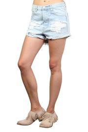 One Teaspoon Wilde Outlaw Denim Shorts - Product Mini Image