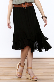 Shoptiques Product: Belted Maxi Skirt