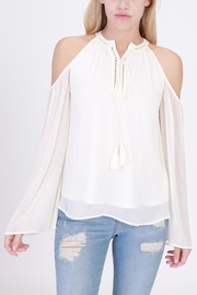 onetheland Cold Shoulder Top - Product Mini Image