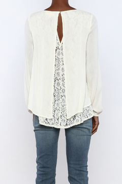 onetheland Cream Gauze Blouse - Alternate List Image