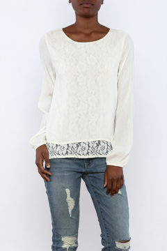 onetheland Cream Gauze Blouse - Product List Image