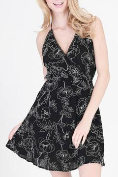 onetheland Embroidered Cross Over Dress - Product List Image