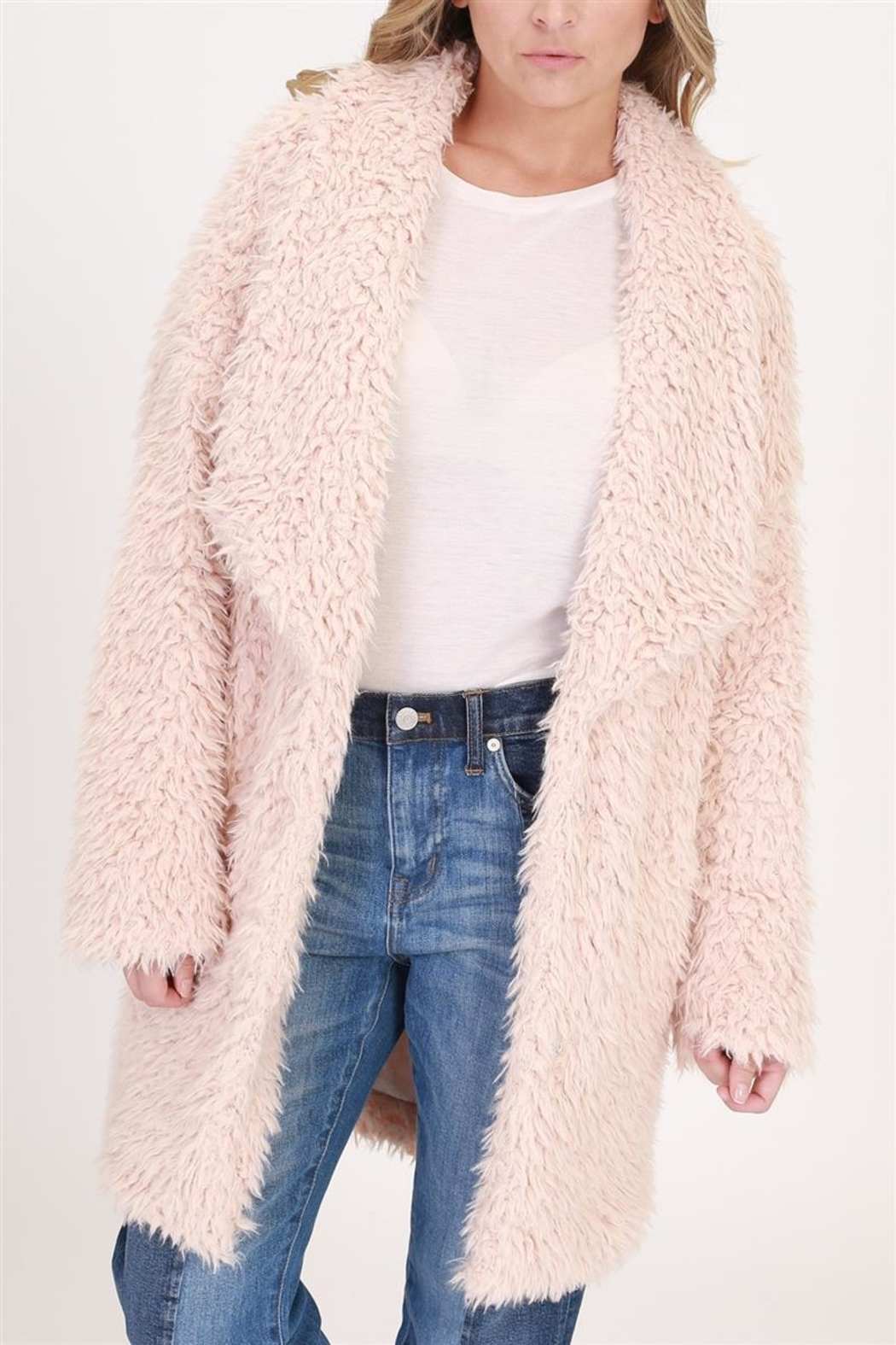 onetheland Faux Fur Jacket - Main Image