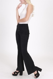 onetheland Faux Suede Pants - Back cropped