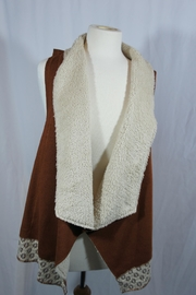 onetheland Fur Shawl Vest - Product Mini Image