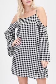 onetheland Gingham Shift Dress - Product Mini Image
