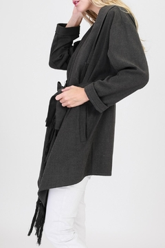 onetheland Gray Wrap Coat - Alternate List Image