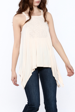 Shoptiques Product: Handkerchief Cut Top