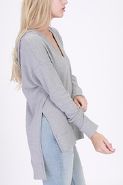 onetheland Hooded Long Sleeve Top - Side cropped