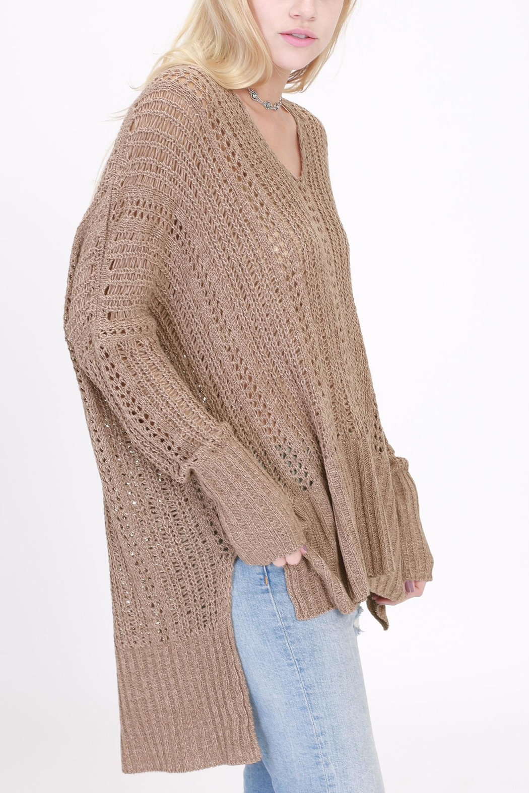 onetheland Knit Sweater - Front Full Image