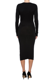 Shoptiques Product: Knot Tie Dress - Back cropped