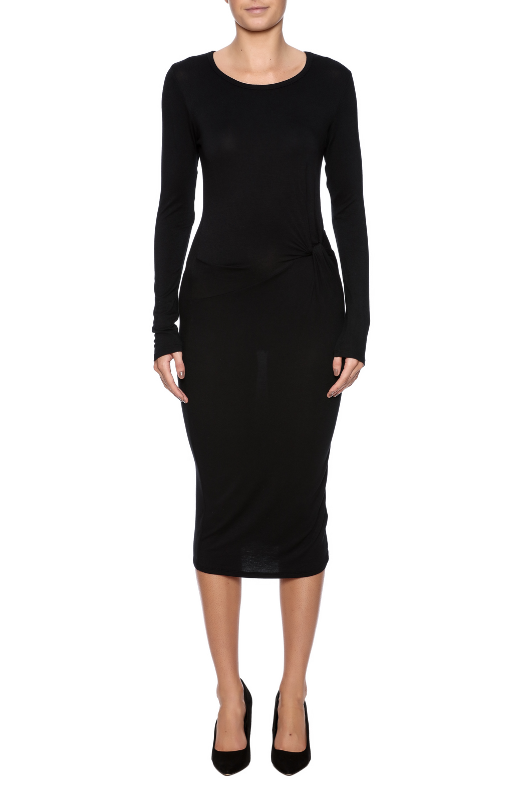 onetheland Knot Tie Dress - Front Cropped Image
