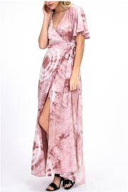 onetheland Maxi Wrap Dress - Product Mini Image