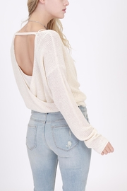 onetheland Open Sweater - Side cropped