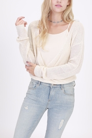 onetheland Open Sweater - Front cropped