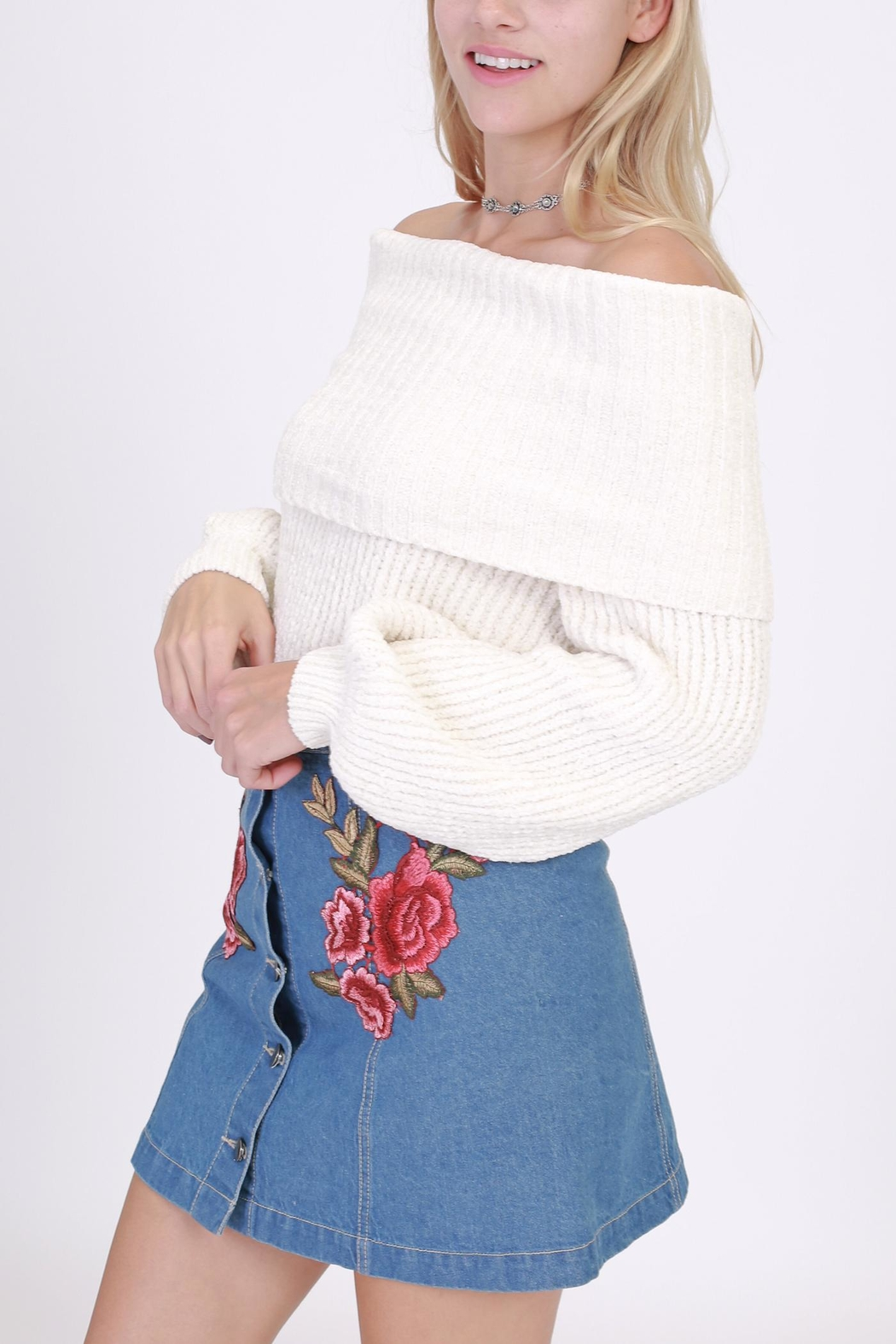 onetheland Off The Shoulder Sweater from New York City by Dor L ...