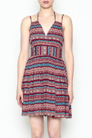 onetheland Print Tassle Dress - Front full body