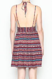 onetheland Print Tassle Dress - Back cropped