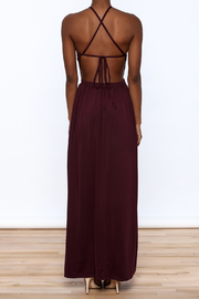 onetheland Purple Maxi Dress - Back cropped